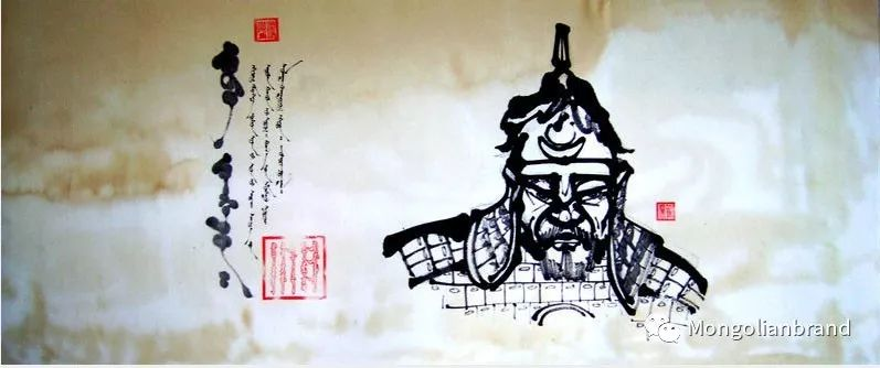 同样是竖体蒙古文,蒙古国的书法与我们不一样【组图】 第19张