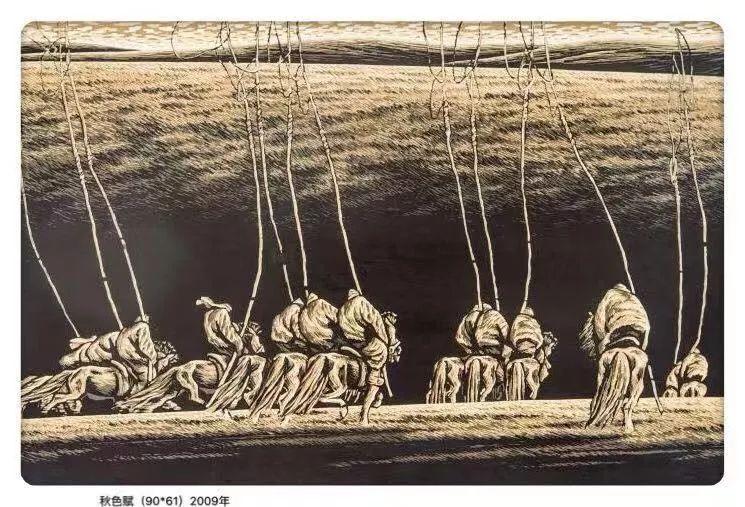 百家艺术|生活的启迪——田宏图版画作品赏析 第17张