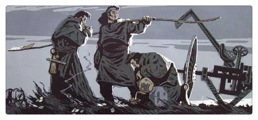 百家艺术|生活的启迪——田宏图版画作品赏析 第23张
