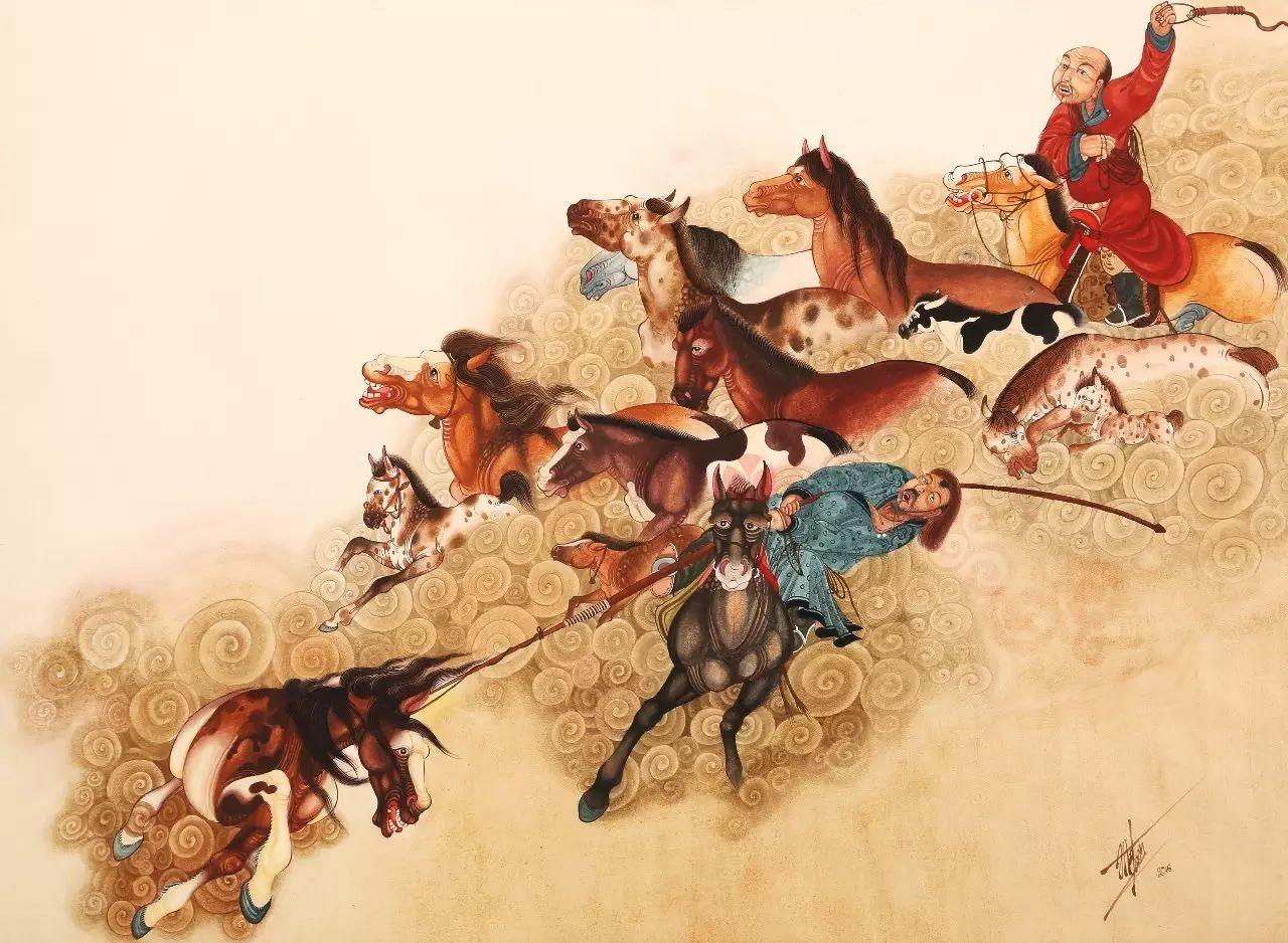 蒙古国作品赏析——来自草原的献礼 第6张