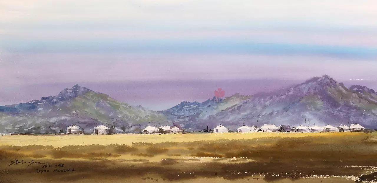 蒙古国作品赏析——来自草原的献礼 第12张