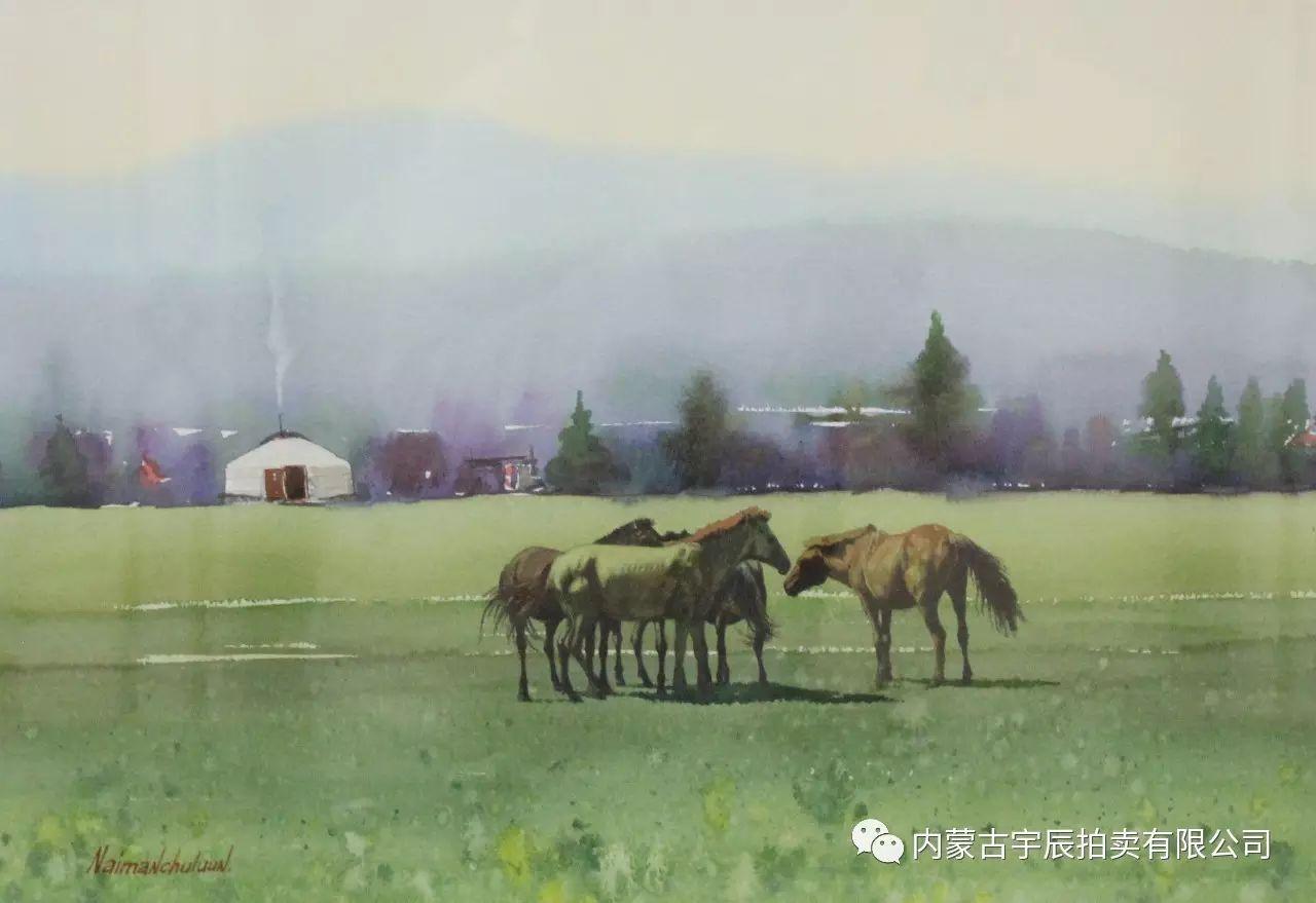 美丽盛开的原野——蒙古国作品赏析(二) 第12张 美丽盛开的原野——蒙古国作品赏析(二) 蒙古画廊