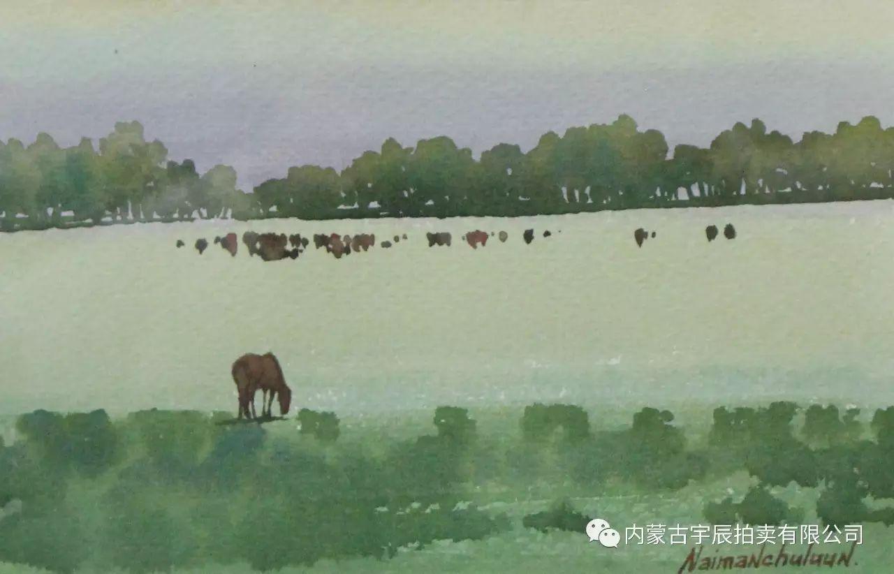 美丽盛开的原野——蒙古国作品赏析(二) 第14张 美丽盛开的原野——蒙古国作品赏析(二) 蒙古画廊