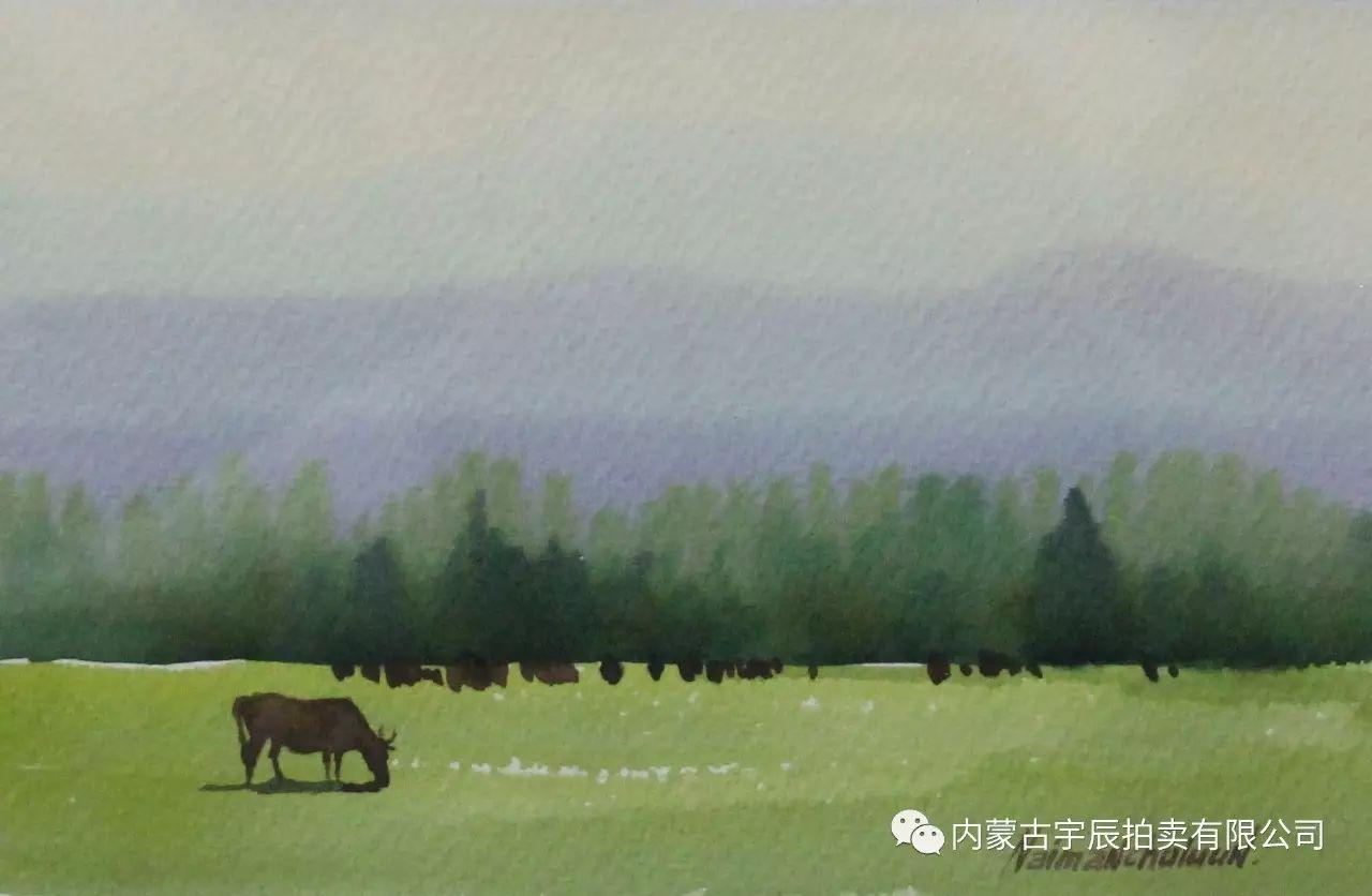 美丽盛开的原野——蒙古国作品赏析(二) 第15张 美丽盛开的原野——蒙古国作品赏析(二) 蒙古画廊