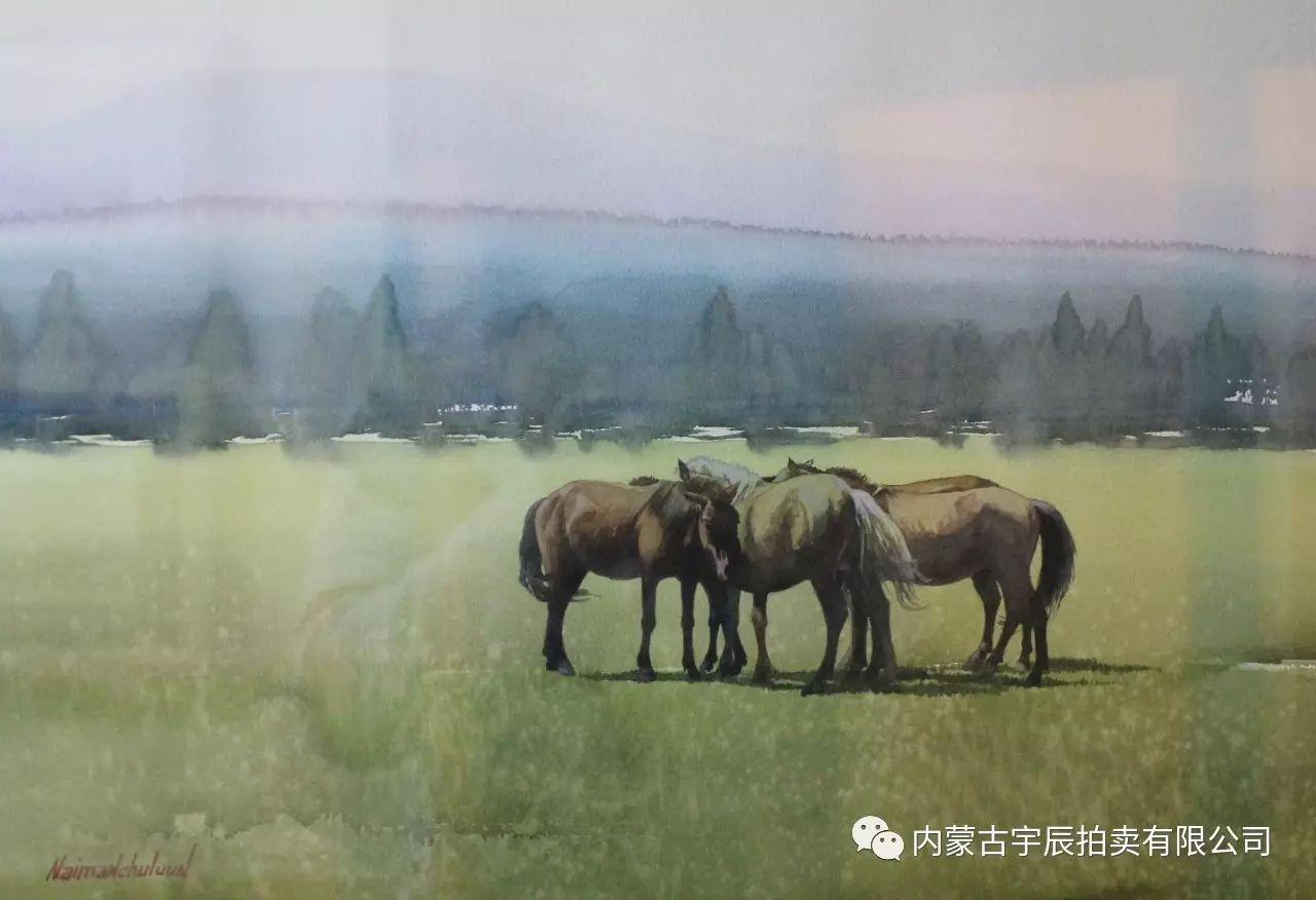 美丽盛开的原野——蒙古国作品赏析(二) 第16张 美丽盛开的原野——蒙古国作品赏析(二) 蒙古画廊