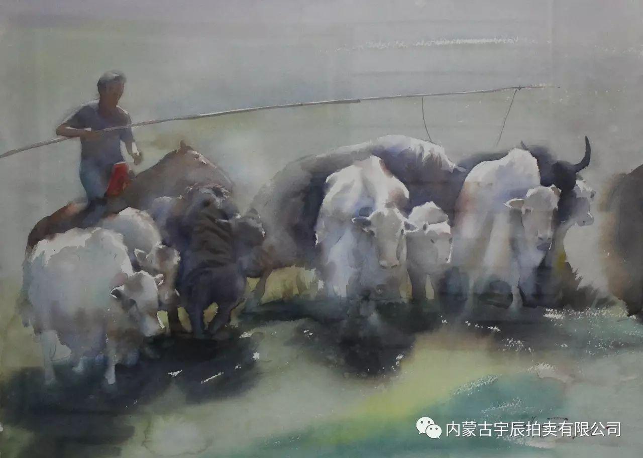 美丽盛开的原野——蒙古国作品赏析(二) 第20张 美丽盛开的原野——蒙古国作品赏析(二) 蒙古画廊