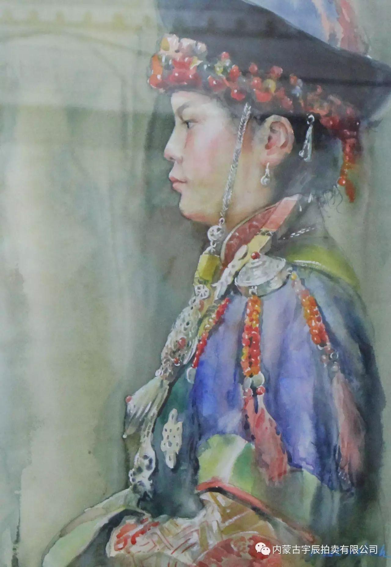 美丽盛开的原野——蒙古国作品赏析(二) 第24张 美丽盛开的原野——蒙古国作品赏析(二) 蒙古画廊