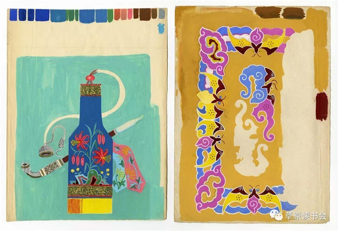 博彦和什克与他的蒙古族图案艺术 第9张 博彦和什克与他的蒙古族图案艺术 蒙古图案