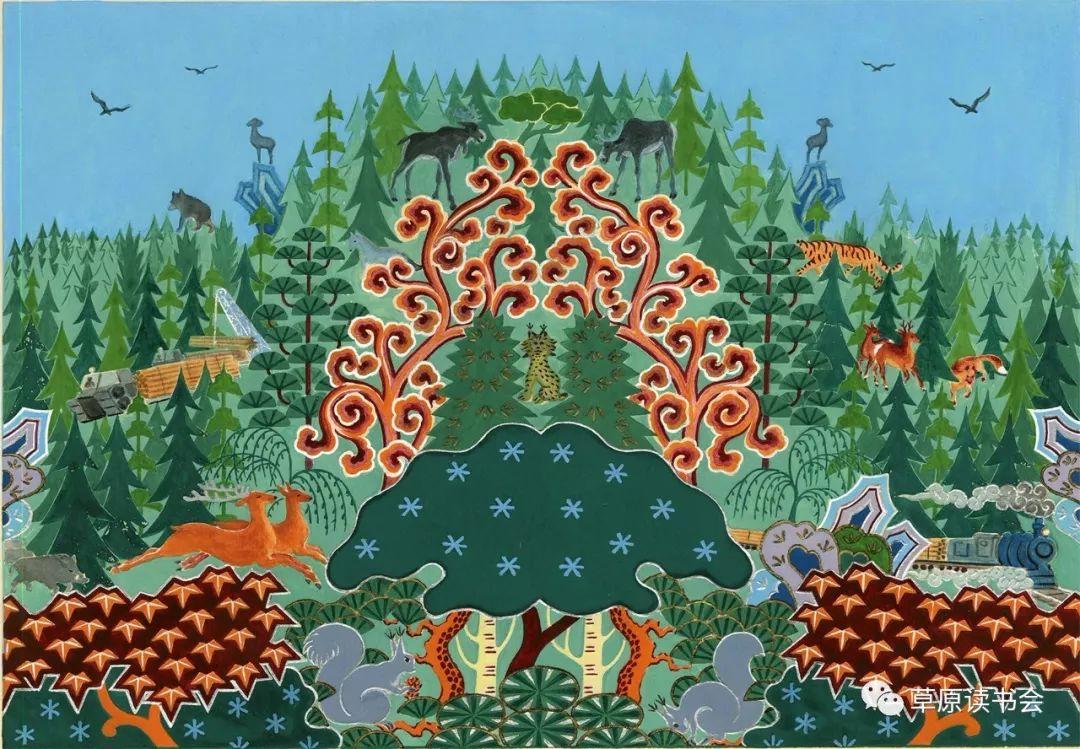 博彦和什克与他的蒙古族图案艺术 第17张 博彦和什克与他的蒙古族图案艺术 蒙古图案