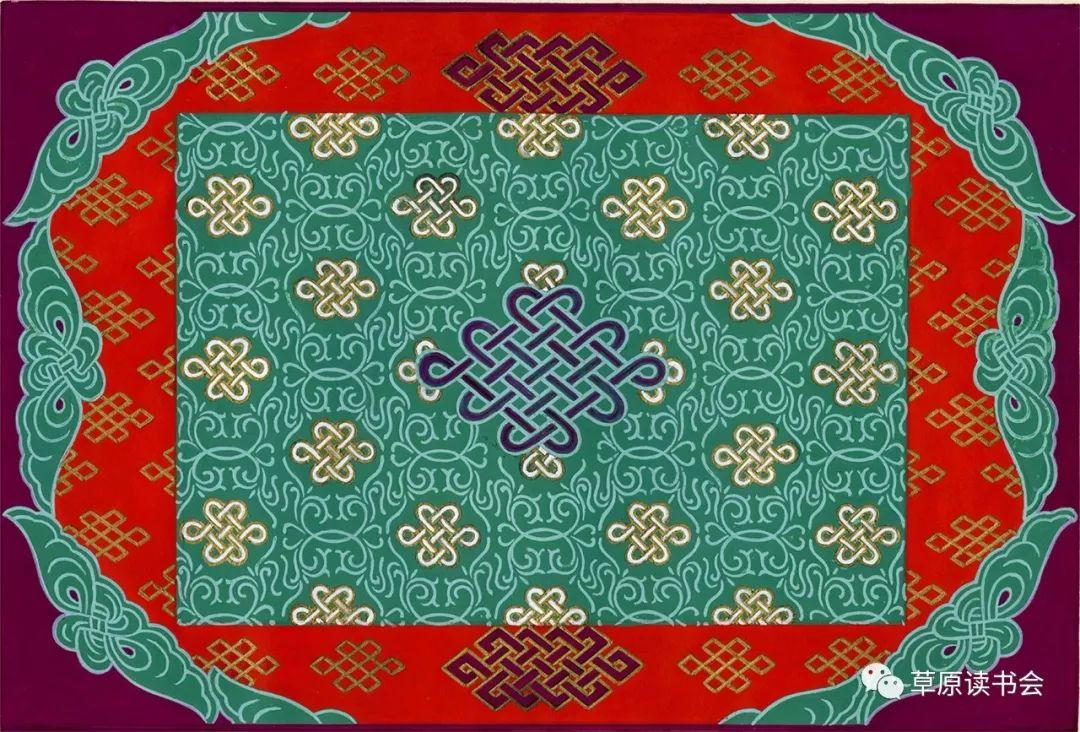 博彦和什克与他的蒙古族图案艺术 第24张 博彦和什克与他的蒙古族图案艺术 蒙古图案