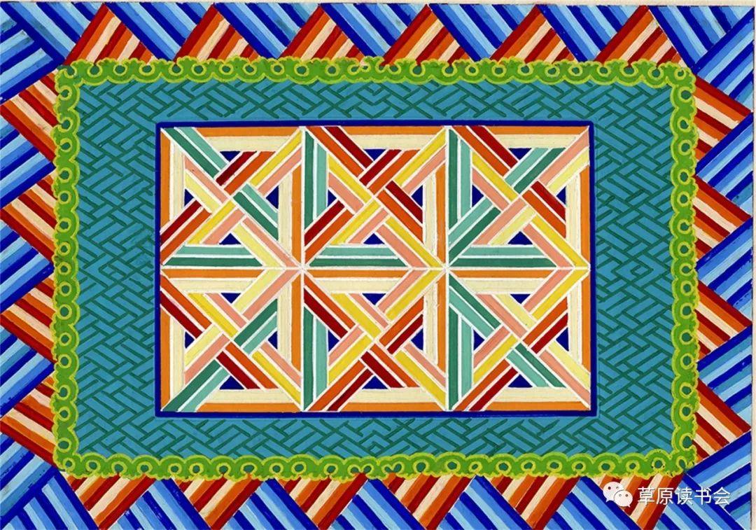 博彦和什克与他的蒙古族图案艺术 第25张 博彦和什克与他的蒙古族图案艺术 蒙古图案