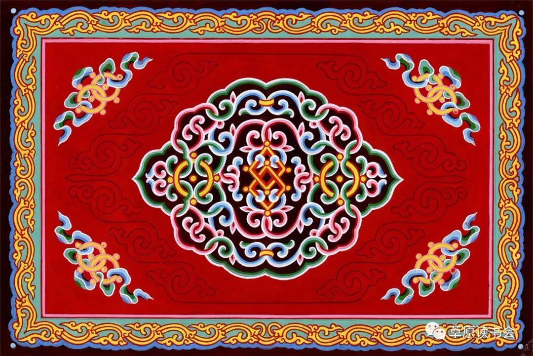 博彦和什克与他的蒙古族图案艺术 第27张 博彦和什克与他的蒙古族图案艺术 蒙古图案