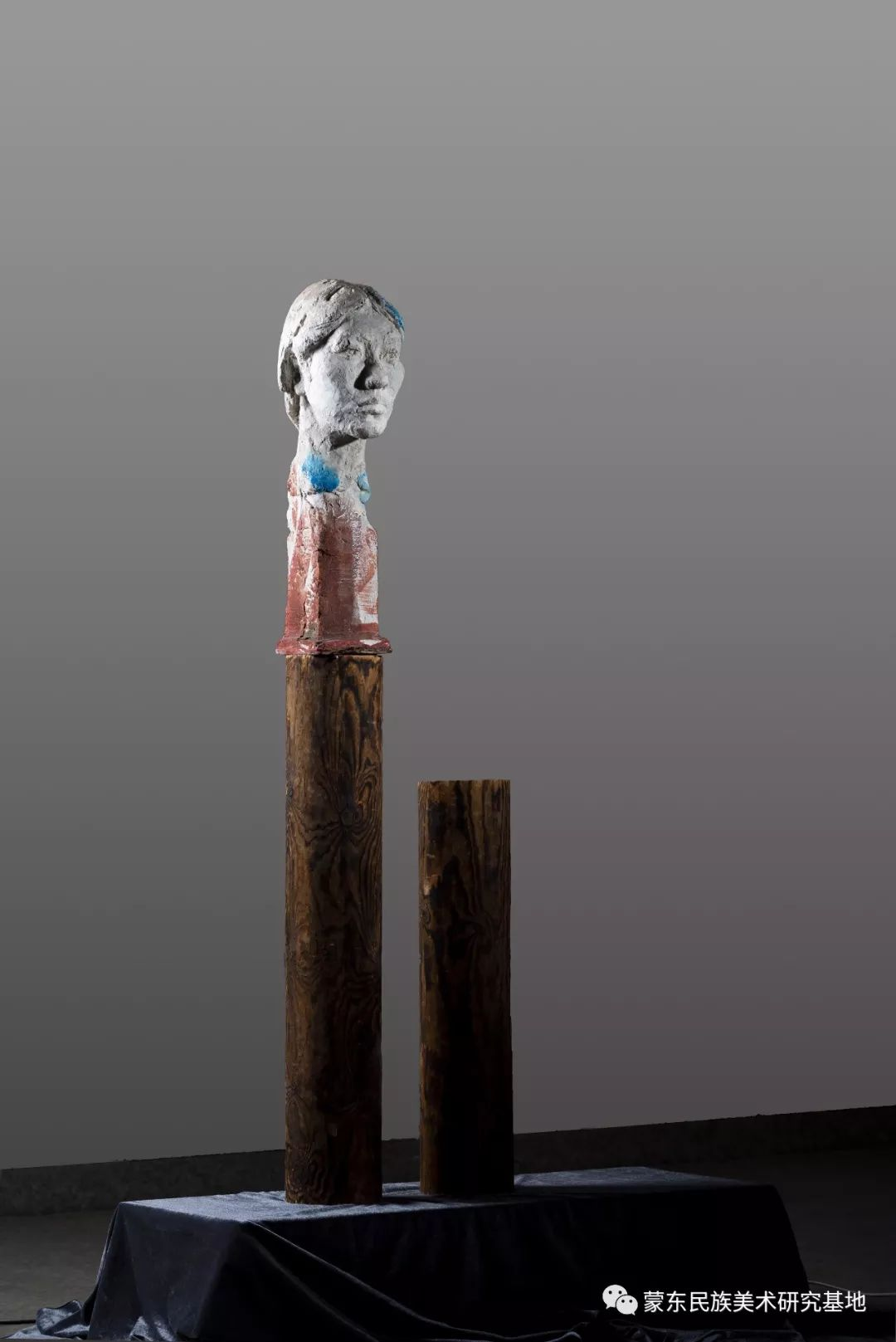 包格日乐吐作品——头像雕塑系列(一) 第4张 包格日乐吐作品——头像雕塑系列(一) 蒙古画廊