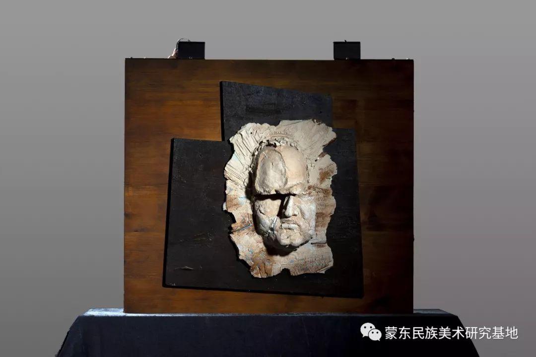 包格日乐吐作品——头像雕塑系列(一) 第6张 包格日乐吐作品——头像雕塑系列(一) 蒙古画廊