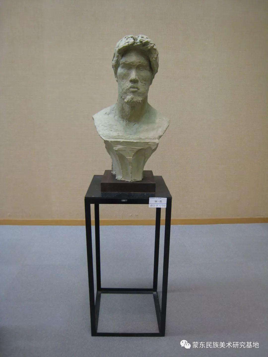 包格日乐吐作品——头像雕塑系列(一) 第11张 包格日乐吐作品——头像雕塑系列(一) 蒙古画廊