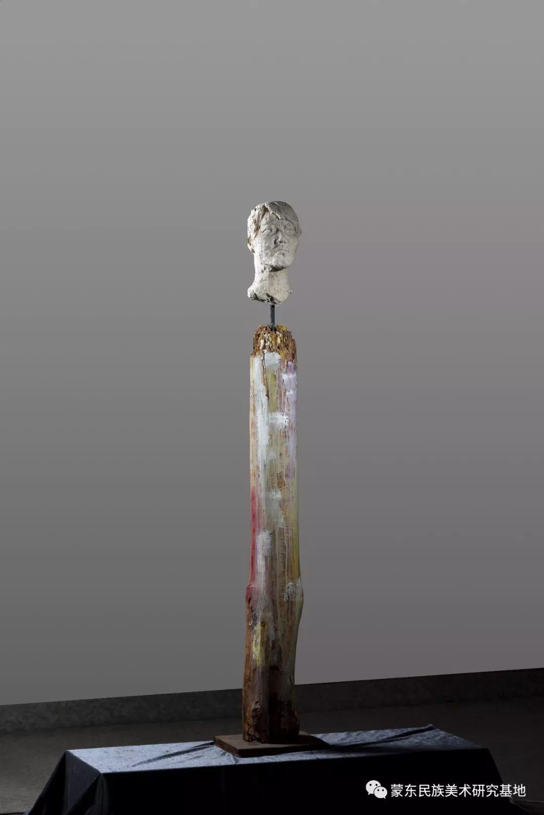 包格日乐吐作品——头像雕塑系列(二) 第8张 包格日乐吐作品——头像雕塑系列(二) 蒙古画廊