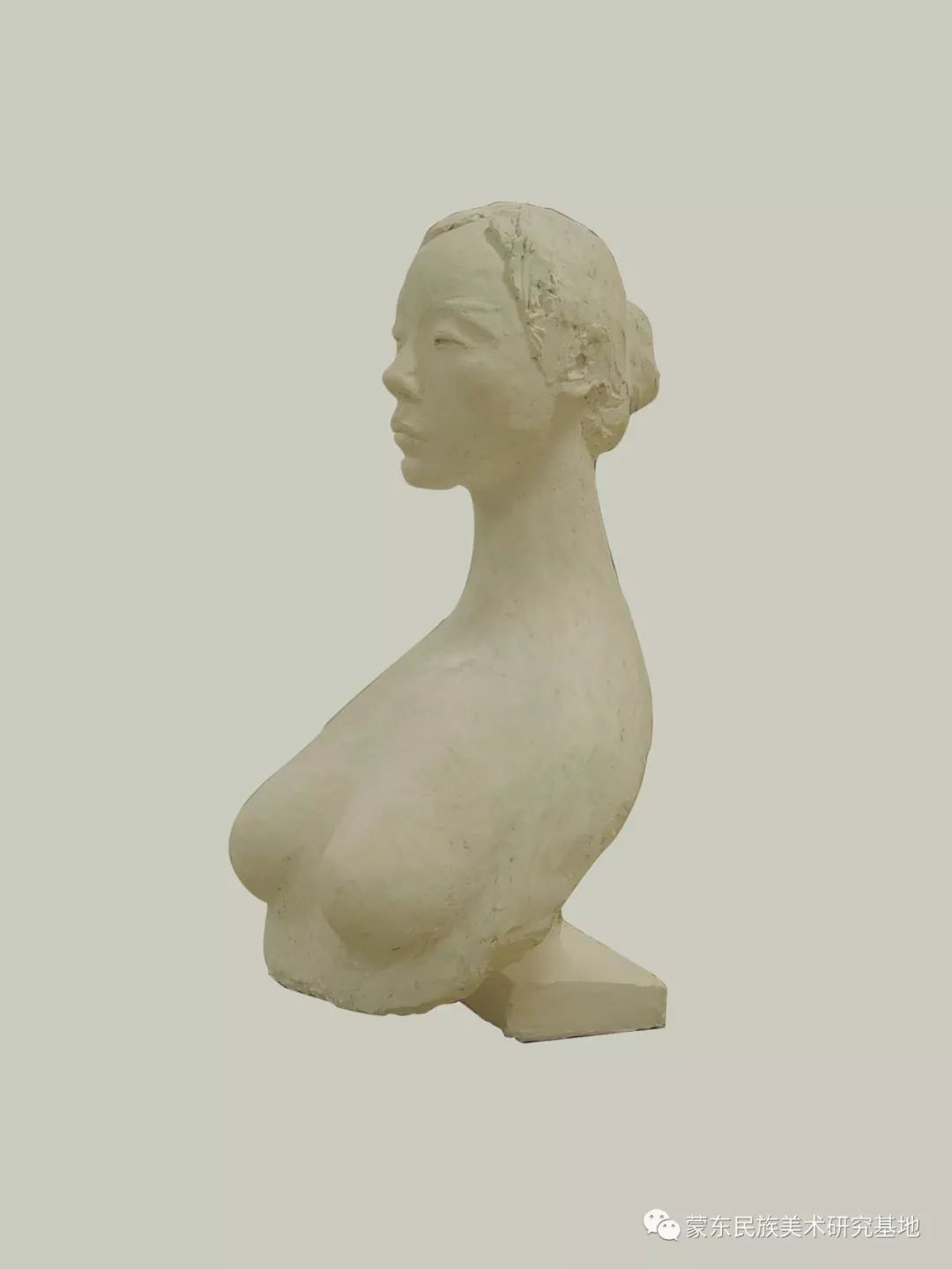 包格日乐吐作品——头像雕塑系列(二) 第9张 包格日乐吐作品——头像雕塑系列(二) 蒙古画廊