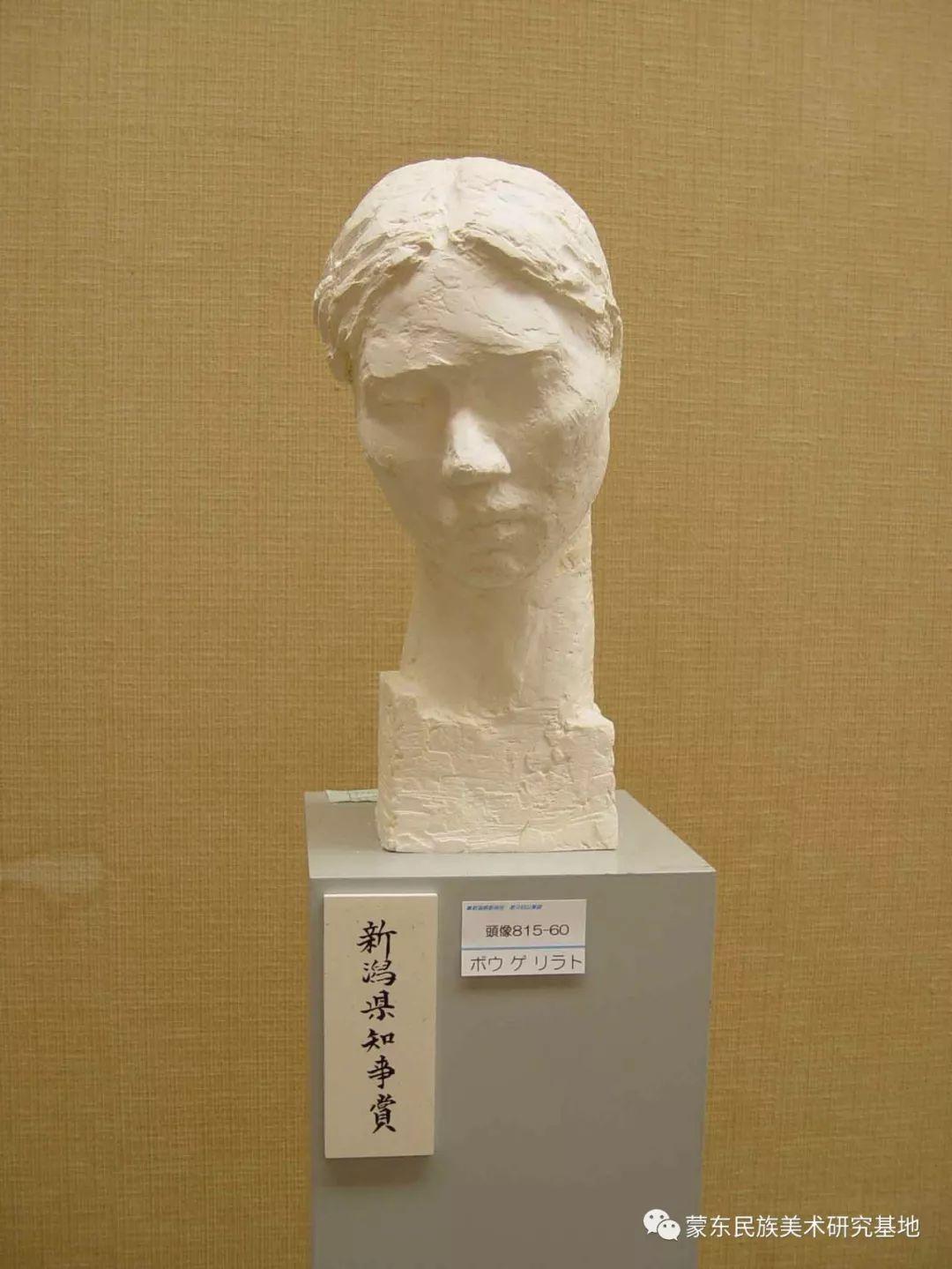 包格日乐吐作品——头像雕塑系列(二) 第12张 包格日乐吐作品——头像雕塑系列(二) 蒙古画廊