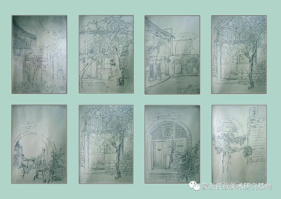 张琪版画作品——中国少数民族美术促进会,蒙东民族美术研究基地画家系列 第14张