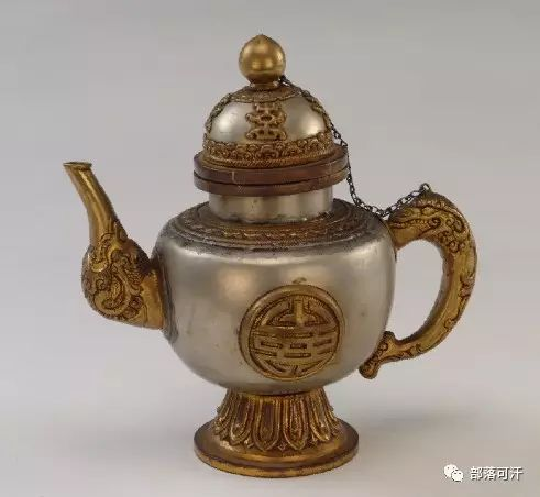 蒙古族文物展示之银器 第3张 蒙古族文物展示之银器 蒙古工艺