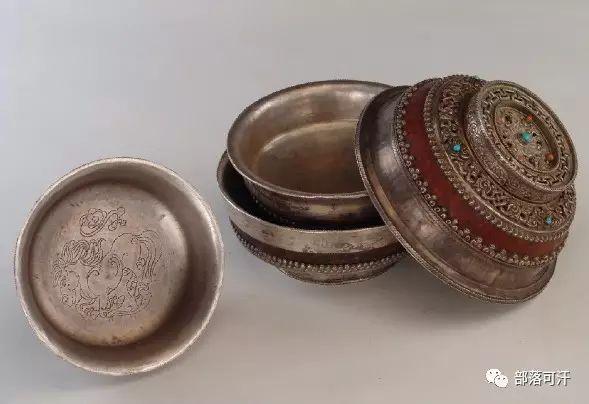 蒙古族文物展示之银器 第4张 蒙古族文物展示之银器 蒙古工艺