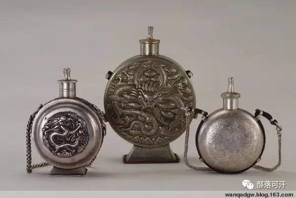 蒙古族文物展示之银器 第9张 蒙古族文物展示之银器 蒙古工艺