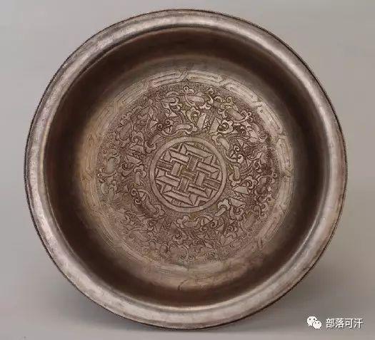 蒙古族文物展示之银器 第7张 蒙古族文物展示之银器 蒙古工艺
