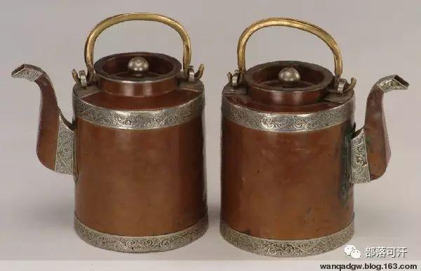 蒙古族文物展示之银器 第8张 蒙古族文物展示之银器 蒙古工艺