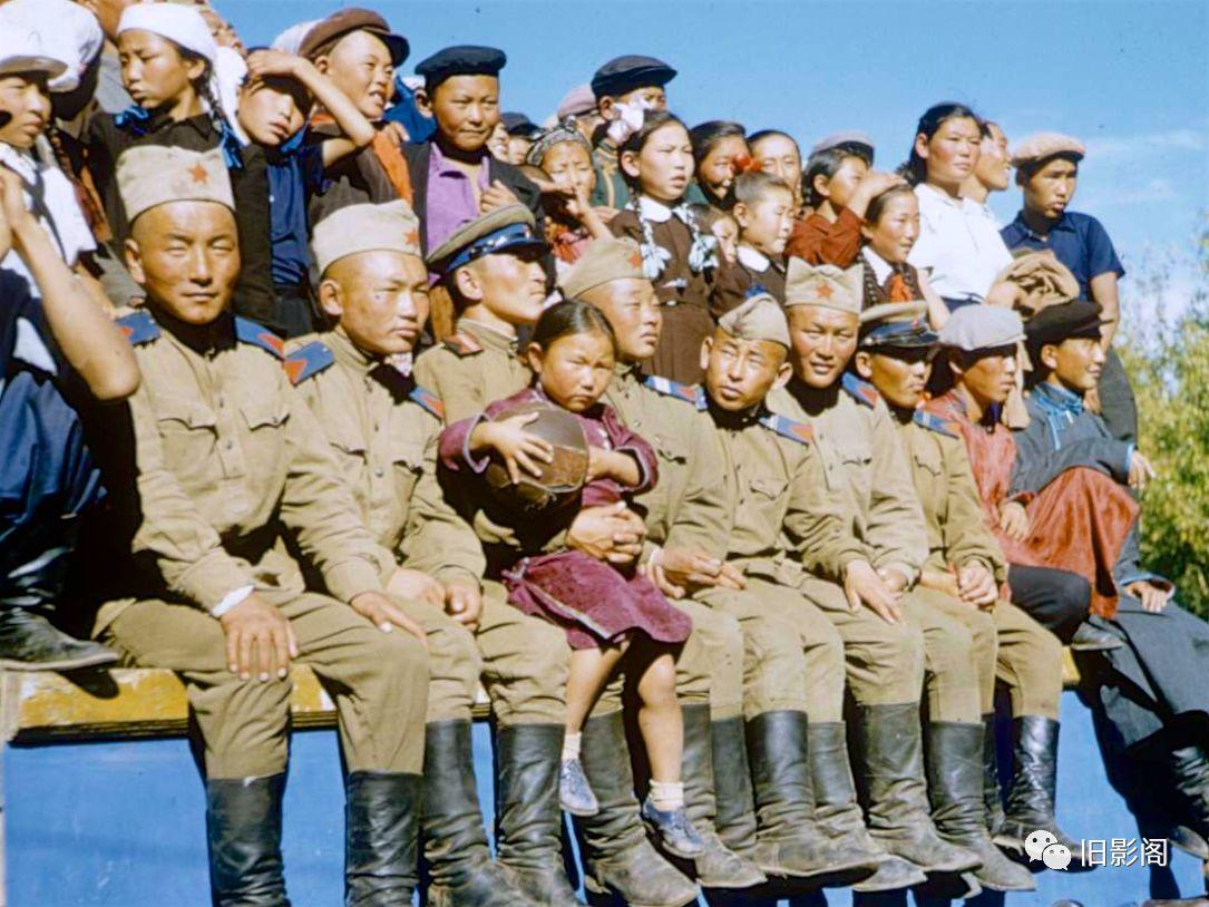 世界上人口密度最小的国家 五十年代初的蒙古 第2张 世界上人口密度最小的国家 五十年代初的蒙古 蒙古文化