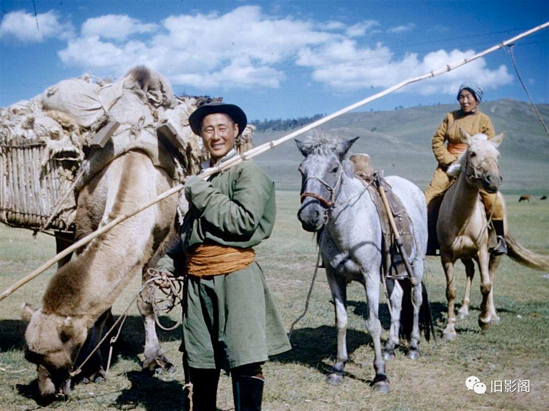 世界上人口密度最小的国家 五十年代初的蒙古 第1张 世界上人口密度最小的国家 五十年代初的蒙古 蒙古文化