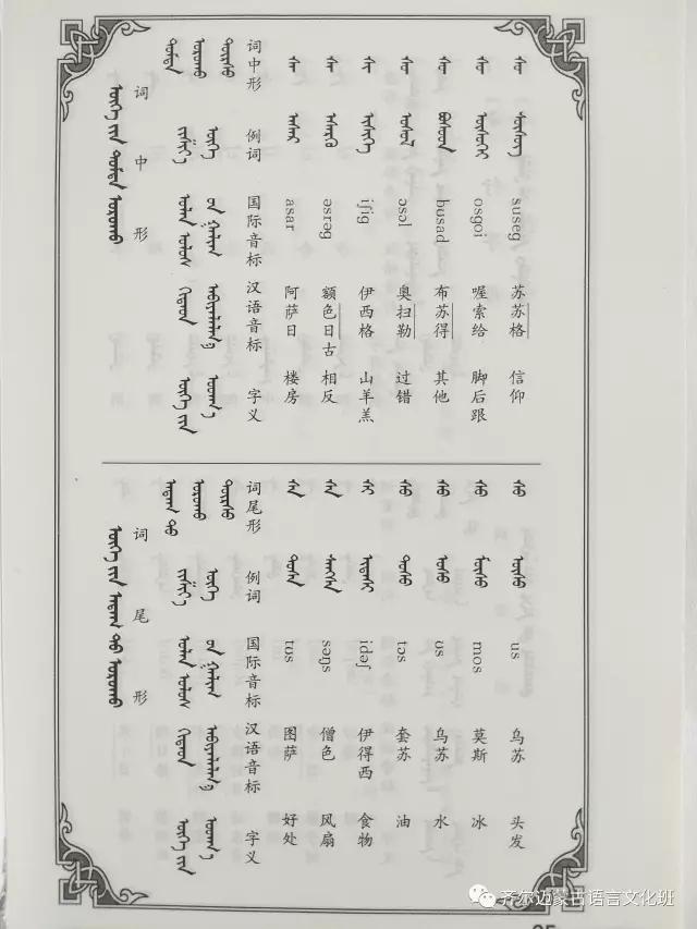 学蒙古语的人很多,学蒙古语的书籍有哪些?┃回顾50年代至今学蒙古语的书籍(3) 第24张 学蒙古语的人很多,学蒙古语的书籍有哪些?┃回顾50年代至今学蒙古语的书籍(3) 蒙古文化