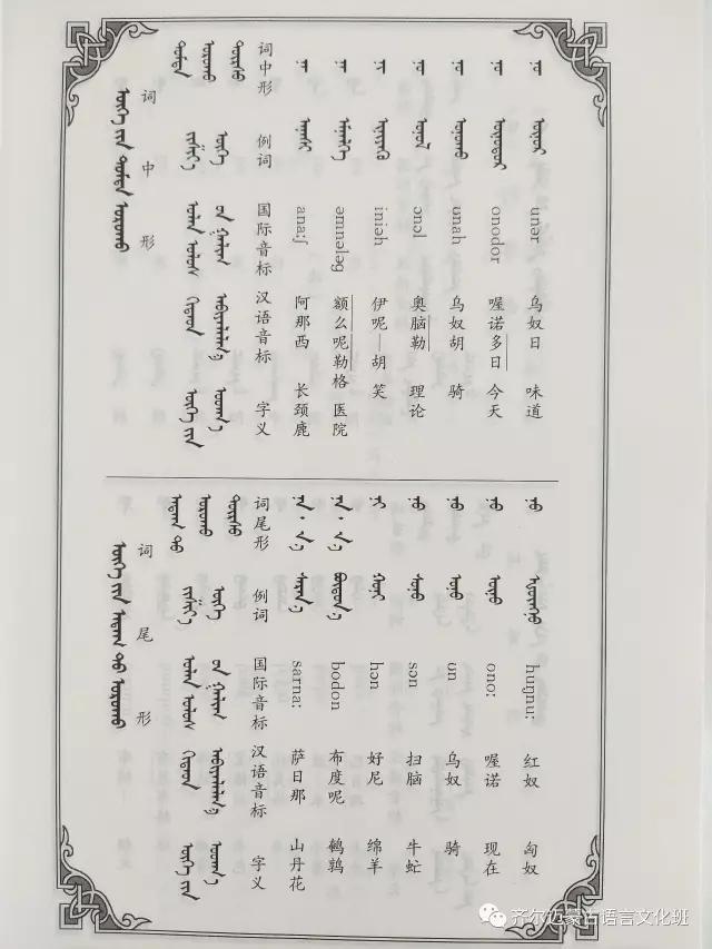 学蒙古语的人很多,学蒙古语的书籍有哪些?┃回顾50年代至今学蒙古语的书籍(3) 第23张 学蒙古语的人很多,学蒙古语的书籍有哪些?┃回顾50年代至今学蒙古语的书籍(3) 蒙古文化