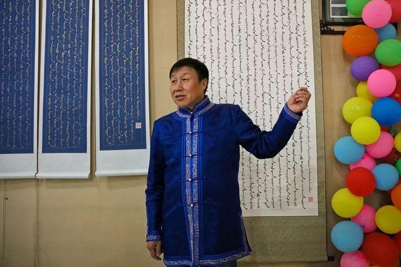 【书城 || 人物】一位蒙古文书法家的情怀 第6张