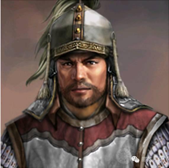 一个韩国人画的蒙古帝国人物头像 第2张 一个韩国人画的蒙古帝国人物头像 蒙古文化