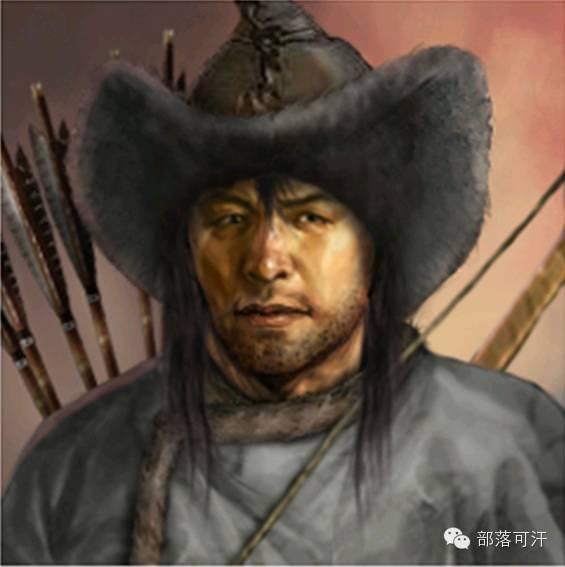 一个韩国人画的蒙古帝国人物头像 第11张 一个韩国人画的蒙古帝国人物头像 蒙古文化