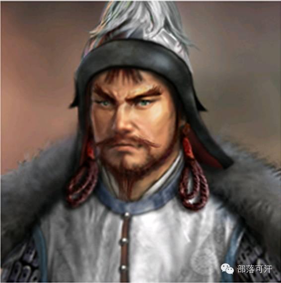 一个韩国人画的蒙古帝国人物头像 第5张 一个韩国人画的蒙古帝国人物头像 蒙古文化
