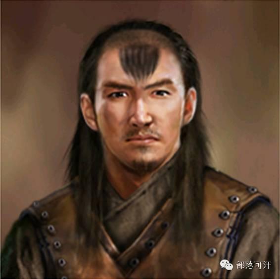 一个韩国人画的蒙古帝国人物头像 第10张 一个韩国人画的蒙古帝国人物头像 蒙古文化