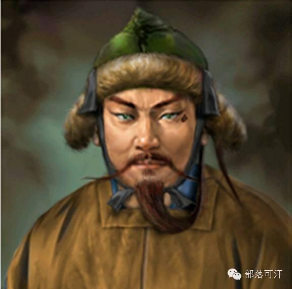 一个韩国人画的蒙古帝国人物头像 第4张 一个韩国人画的蒙古帝国人物头像 蒙古文化