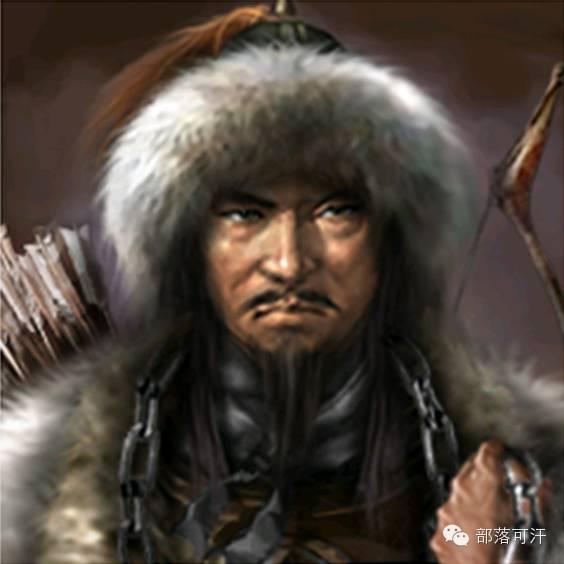 一个韩国人画的蒙古帝国人物头像 第16张 一个韩国人画的蒙古帝国人物头像 蒙古文化