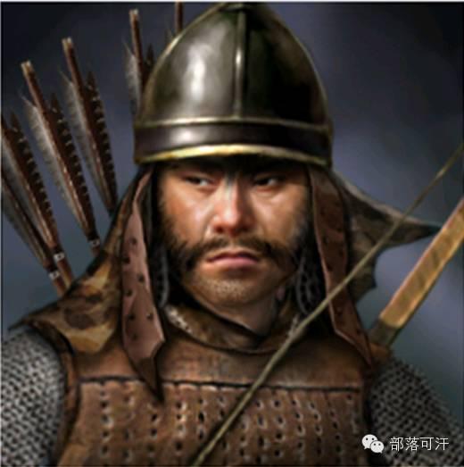 一个韩国人画的蒙古帝国人物头像 第15张 一个韩国人画的蒙古帝国人物头像 蒙古文化