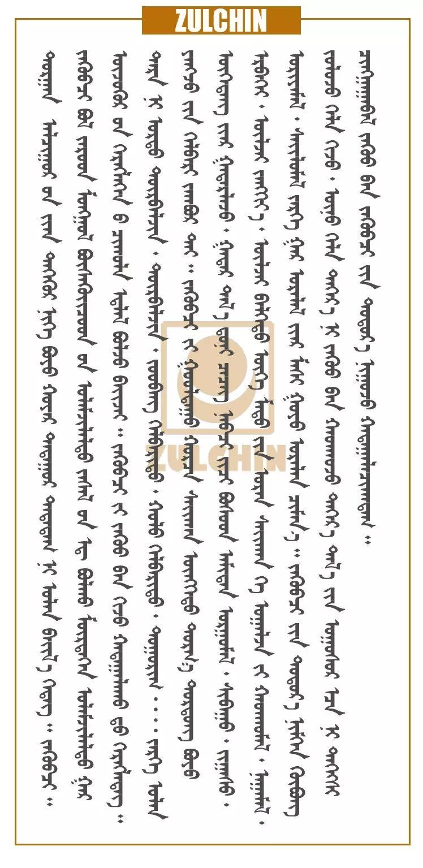 扎鲁特蒙古族传统装饰  (蒙古文) 第4张