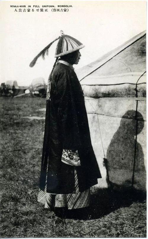 蒙古风俗  (民国日本明信片) 第2张