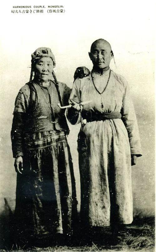蒙古风俗  (民国日本明信片) 第4张