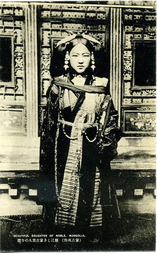 蒙古风俗  (民国日本明信片) 第3张