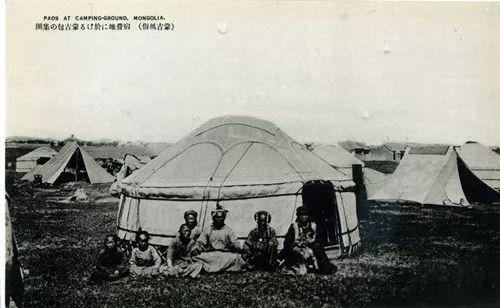 蒙古风俗  (民国日本明信片) 第8张