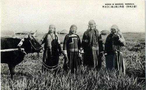 蒙古风俗  (民国日本明信片) 第6张