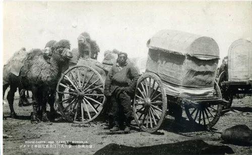 蒙古风俗  (民国日本明信片) 第12张