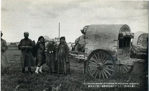 蒙古风俗  (民国日本明信片) 第11张