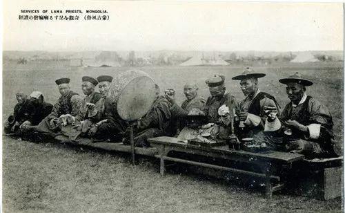 蒙古风俗  (民国日本明信片) 第15张