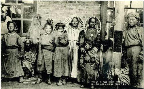 蒙古风俗  (民国日本明信片) 第14张